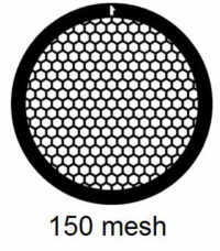 G150HEX-N3, 150 mesh, hexagonal, Ni, vial 100