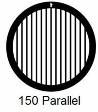 G150P-G3, 150 mesh, parallel, Au, Vial 50