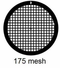G175-N3, 175 mesh, square, Ni, vial 100