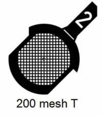 G200T-CP3, 200 mesh, square, Cu/Pd, vial 100