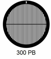 G300PB-CP3, 300 mesh, parallel, Cu/Pd, vial 100