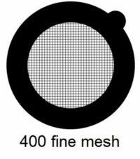 G400HS-N3, 400 fine square mesh, Ni, vial 100