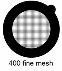 G400HS-C3, 400 fine square mesh, Cu, vial 100