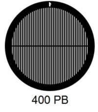 G400PB-CP3, 400 mesh, parallel, Cu/Pd, vial 100