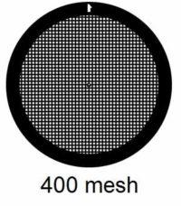 G400N3, 400 mesh, square, Ni, vial 100