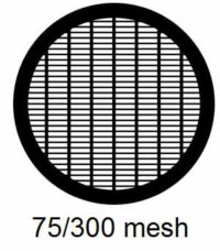 G75/300-N3, 75/300 mesh, parallel, Ni, vial 100