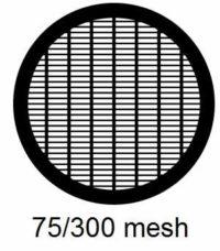 G75/300-CP3, 75/300 mesh, parallel, Cu/Pd, vial 100