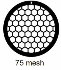 G75HEX-N3, 75 mesh, hexagonal, Ni, vial 100