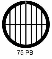 G75PB-CF, 75 mesh, parallel, Cu/Pd, vial 100