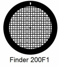 G200F1-C3, Finder grids, Cu, vial 100