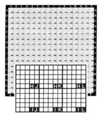 LM-SEM Locator Grid Copper