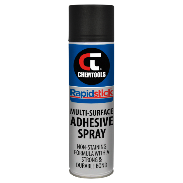 Rapidstick Multi-Surface Adhesive Spray - 400g Aerosol - 12 pack