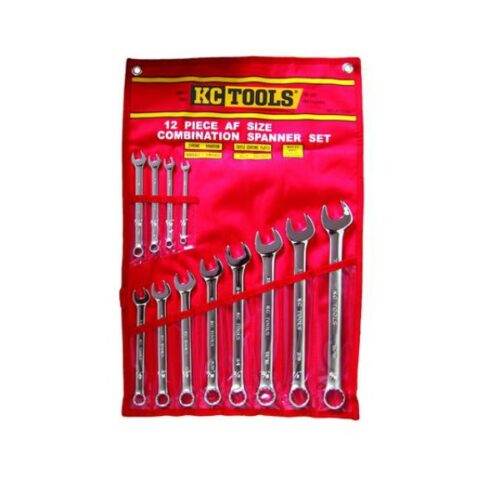 12 PIECE AF COMBINATION SPANNER SET A13334