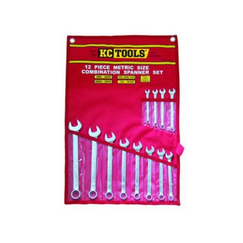 12 PIECE METRIC COMBINATION SPANNER SET A13336