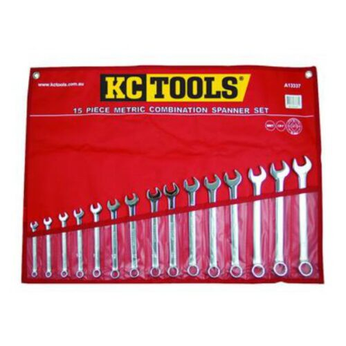 15 PIECE METRIC COMBINATION SPANNER SET A13337