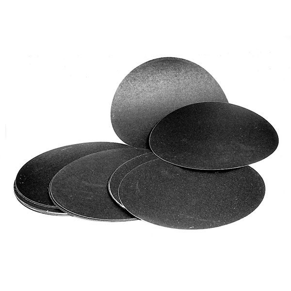 Adhesive Silicon Carbide Discs P1200 203mm (Pack of 25)