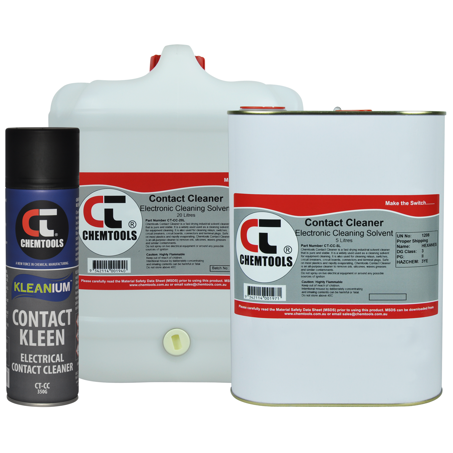Kleanium Contact Kleen – Electrical Contact Cleaner - 500ml - 12 pack