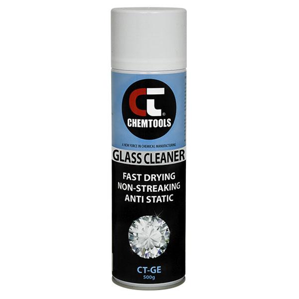 Glass Cleaner – Professional Strength - 500g Aerosol - 12 pack