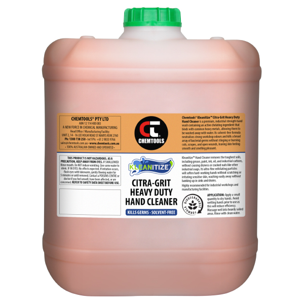 Kleanitize Citra-Grit Heavy Duty Hand Cleaner - 20L