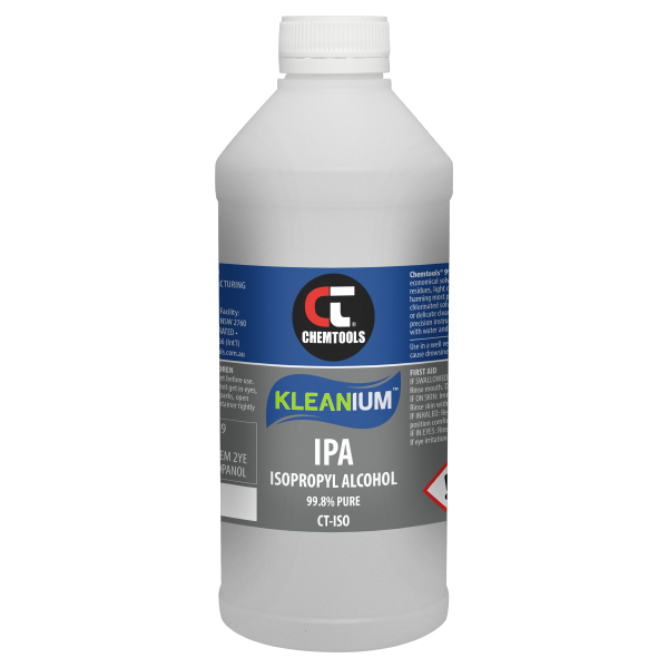 Kleanium 99.8% Pure IPA Isopropyl Alcohol - 1 L - 6 pack