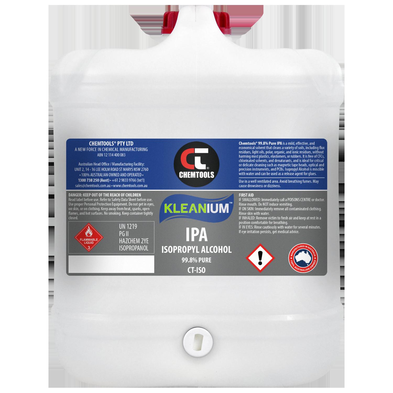 Kleanium 99.8% Pure IPA Isopropyl Alcohol - 20 Litres