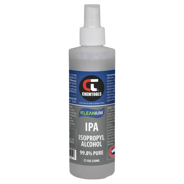 Kleanium 99.8% Pure IPA Isopropyl Alcohol - 250ml spray bottle - 20 pack