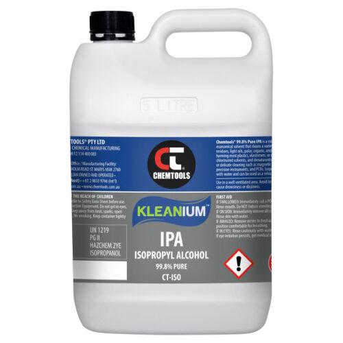 Kleanium 99.8% Pure IPA Isopropyl Alcohol - 5 L - 2 pack