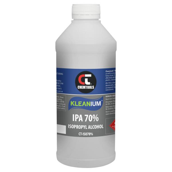 Kleanium 70% IPA Isopropyl Alcohol - 1L - 6 pack
