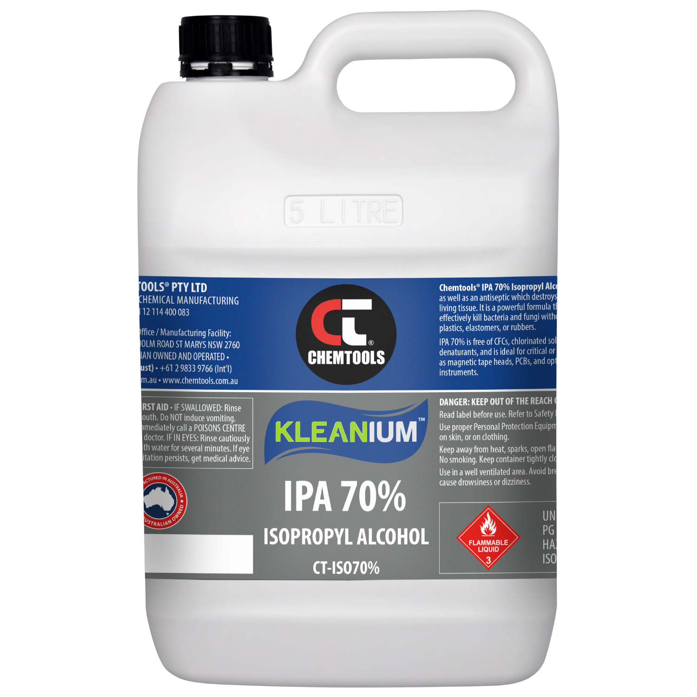 Kleanium 70% IPA Isopropyl Alcohol - 5L - 2 pack