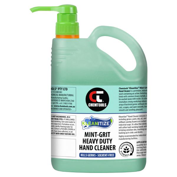 Kleanitize Mint-Grit Heavy Duty Hand Cleaner - 2.5L - 4 pack