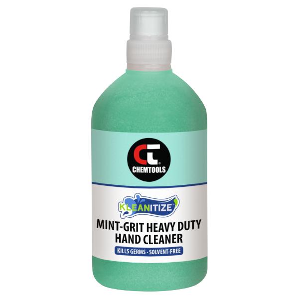 Kleanitize Mint-Grit Heavy Duty Hand Cleaner - 500ml - 6 pack