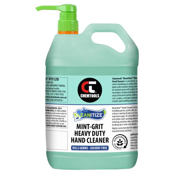 Kleanitize Mint-Grit Heavy Duty Hand Cleaner - 5L - 2 pack