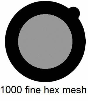 G1000HH-G3, 1000 fine hexagonal mesh, Au, vial 25