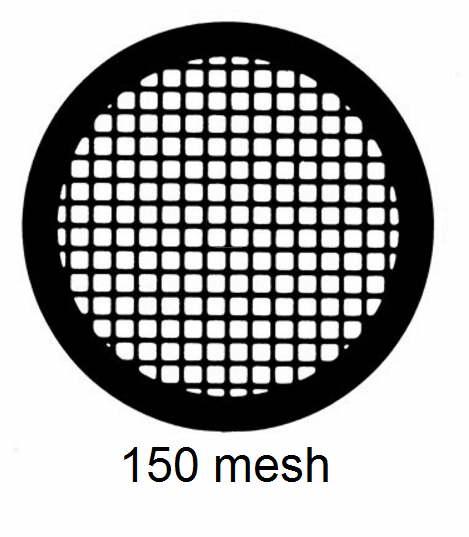 G150-C3,150 mesh, square, Cu, vial 100