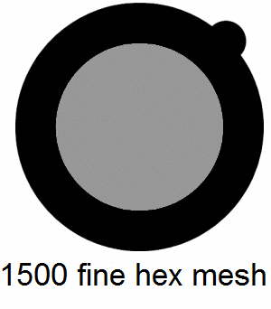 G1500HH-N3, 1500 fine hexagonal mesh, Ni, vial 15
