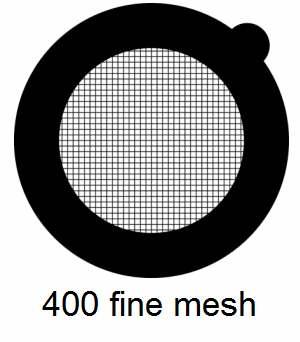 G600HSS-G3, 600 fine square mesh, Au, vial 50