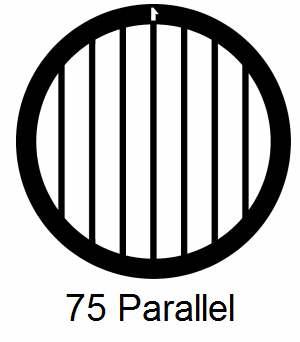 G75P-CP3, 75 mesh, parallel, Cu/Pd, vial 100