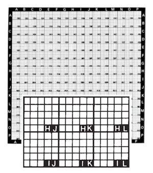 LM-SEM Locator Grid Copper