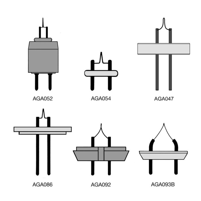 Agar Filaments for LEO Microscope 0.15mm wire (Box of 10)