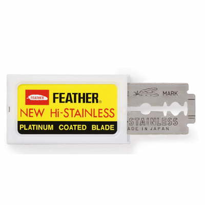 Platinum Coated Double Edge Blade, 100/bx