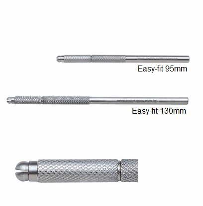 Easy-Fit Fine Scalpel Handle 95mm