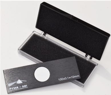 Stage Micrometer S1, 10mm in 0.1mm with UKAS