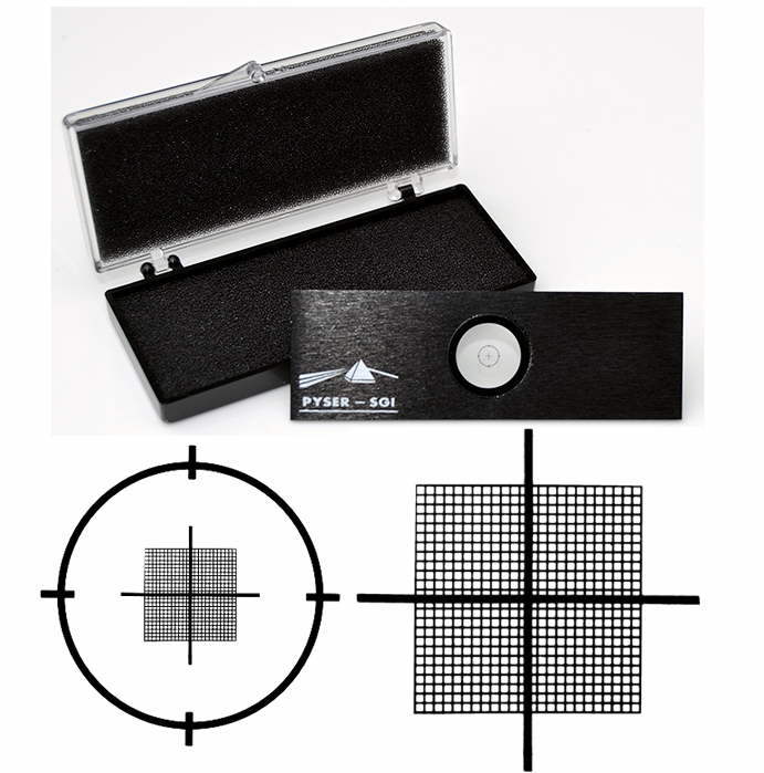 S28 Stage Counting Grid, 0.01mm Squares