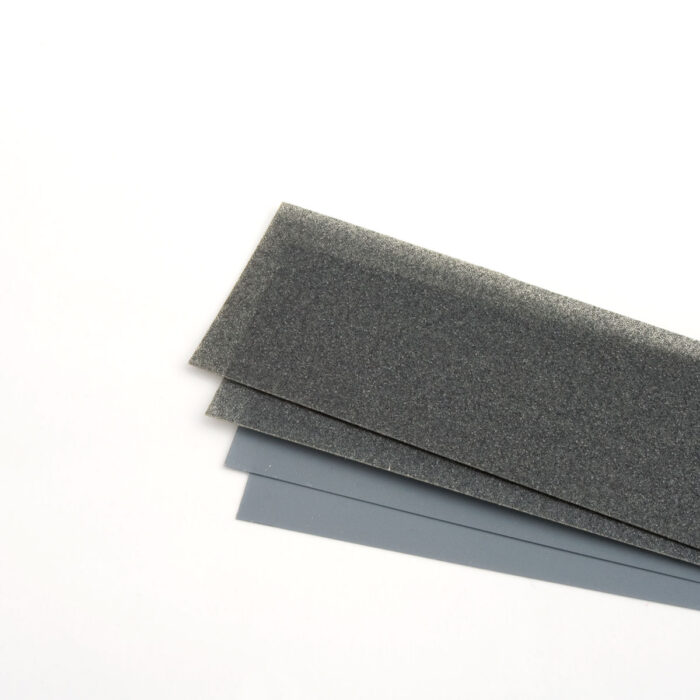 215 x 279mm Silicon carbide polishing sheet, 30µm.
